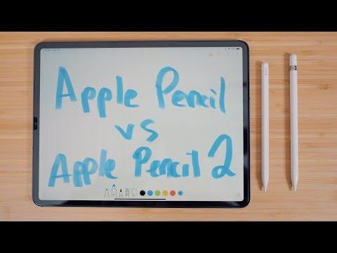 Original Apple Pencil vs. Apple Pencil 2
