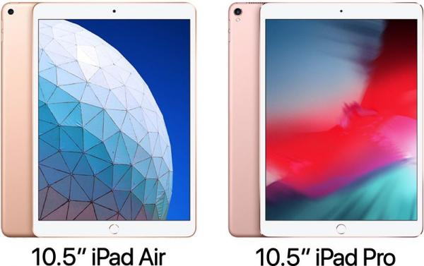 2019 10.5-Inch iPad Air vs. 2017…