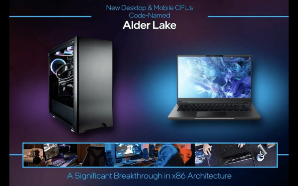 Intel unveils new 12th-generation Adler Lake chips as it plays catch up to Apple's M1