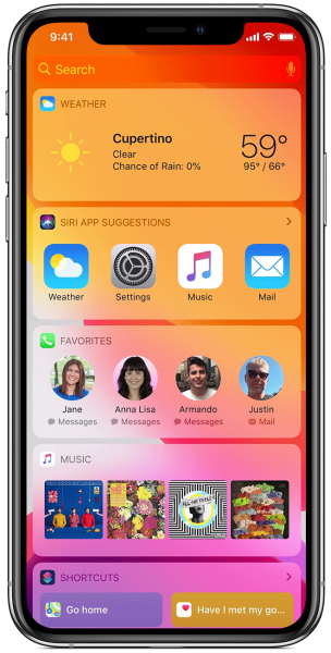 photo of Apple's iOS 14 beta code reveals Home screen widgets for iPhone and iPad image