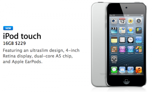 photo image Apple Introduces New Low-End 16 GB iPod Touch
