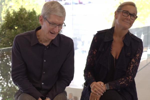 Angela Ahrendts, the 'non-techie' who runs Apple Retail, joined Apple on October 14, 2013
