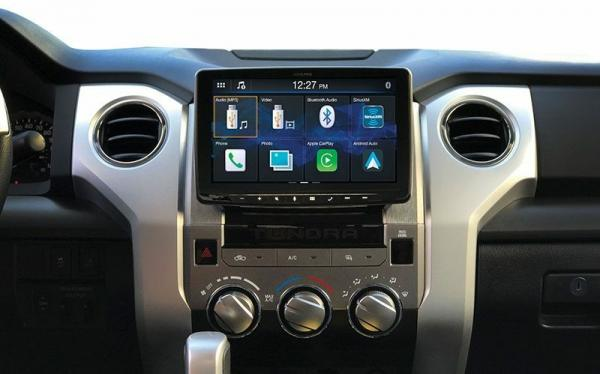 photo image New Alpine CarPlay receivers include unit with 9-inch floating touchscreen