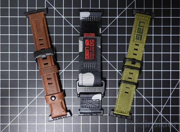 Review: UAG Apple Watch bands offer much…