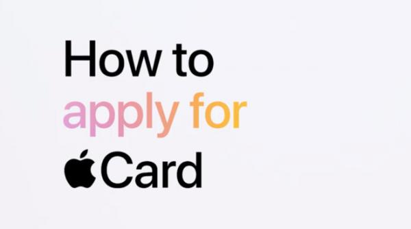 Apple explains Apple Card application…