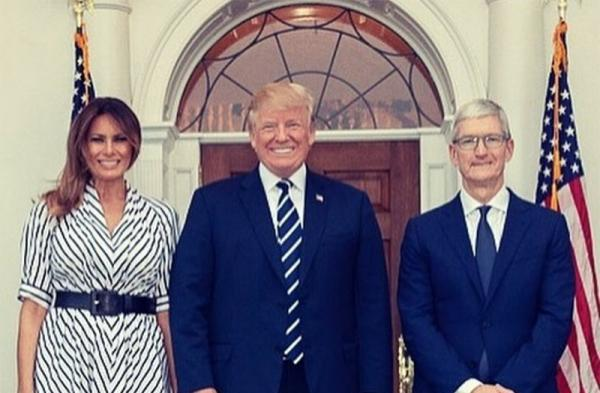 President Trump to dine with Tim Cook,…