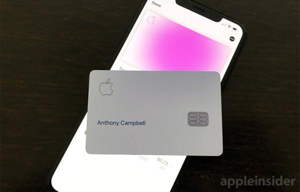 photo of Unboxing and activating Apple's titanium Apple Card image
