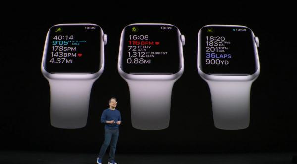 photo of Apple unveils new Apple Watch Series 5, with always on screen image