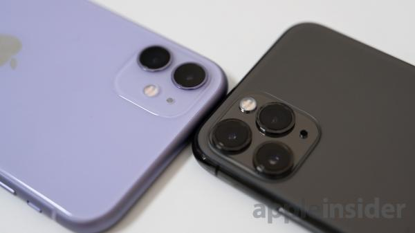 Camera comparison: iPhone 11 versus…
