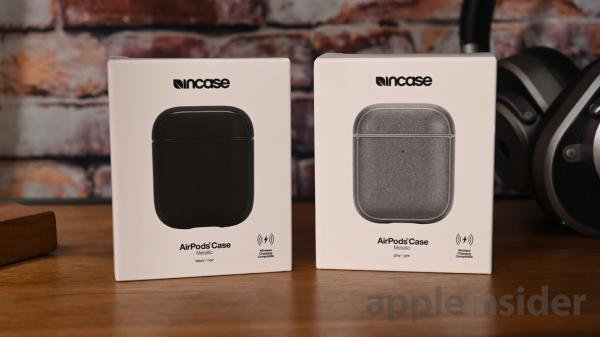 Review: Incase metallic AirPods case…