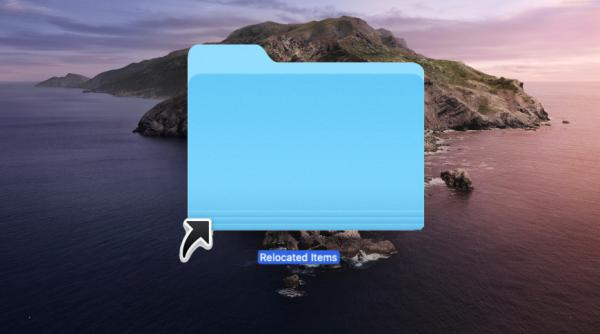 What macOS Catalina's 'Relocated Items'…