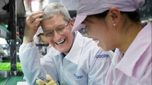 Foxconn says trade war means China can…