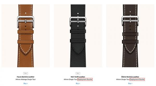 photo of Apple ridiculed for Apple Watch 'Deployment Buckle' gaffe image