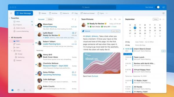 photo of Microsoft Announces Outlook for Mac Redesign, Improvements to iOS and watchOS Apps image