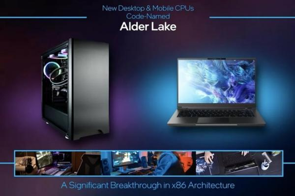 photo of Intel unveiles new 'Alder Lake' chips that emulate Apple's ARM designs image