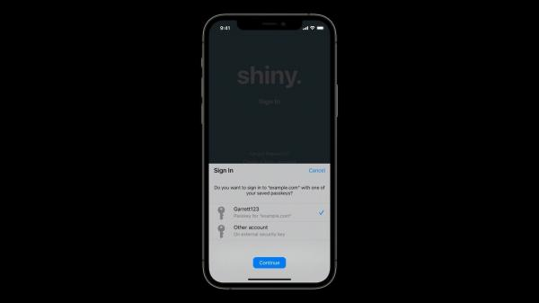 photo of Apple wants to replace passwords with your iPhone or Mac image
