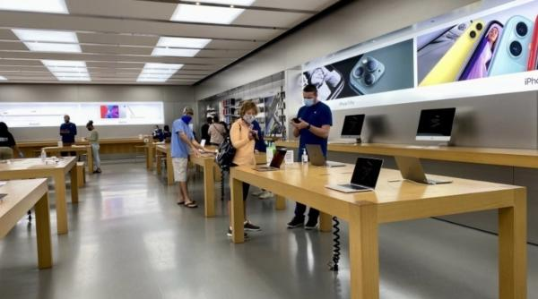 photo of Apple set to drop customer mask requirement for Apple Store visits image
