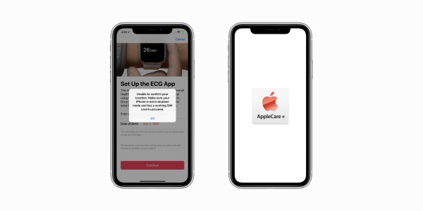 photo image iOS 12.2 under-the-hood: ECG changes, AppleCare status, more