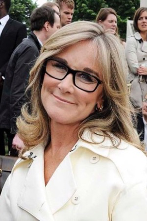 photo of Former Apple exec Angela Ahrendts is new chair of the board for Save the Children International image