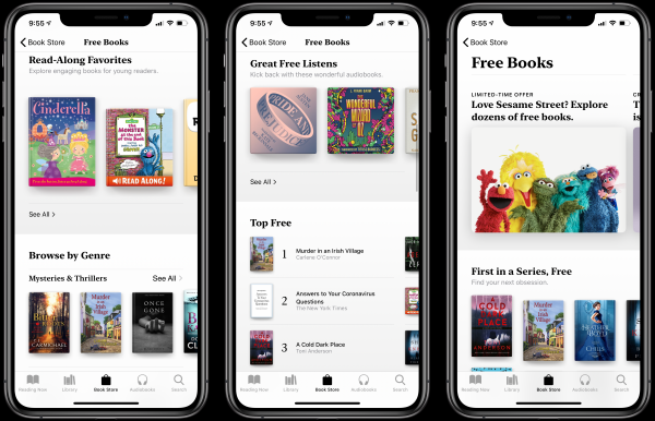 Apple Offers Free Books and Audiobooks…