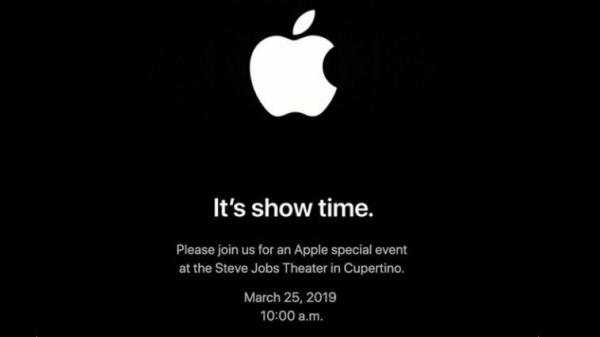 "photo of ""It's show time:"" Apple confirms March 25 event at the Steve Jobs Theater image"