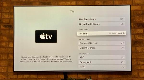 tvOS 13.3 adds setting to put back the…