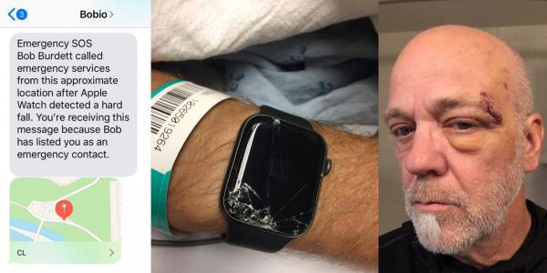 Apple Watch helps EMTs and family locate mountain biker after unexpected fall