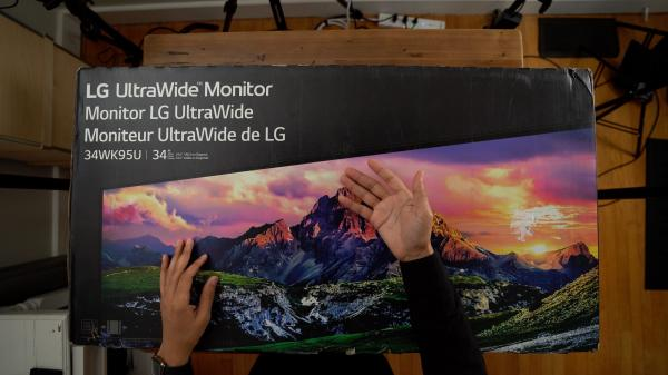 photo of LG's highly anticipated Thunderbolt 3-enabled 5K UltraWide display is now on sale image
