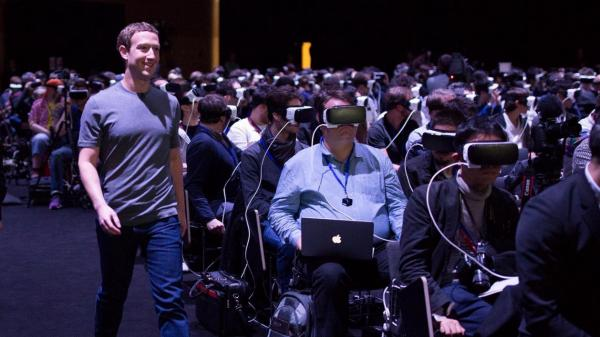 photo of Mark Zuckerberg subtly criticizes Apple's rumored AR and VR headset plans in new interview image