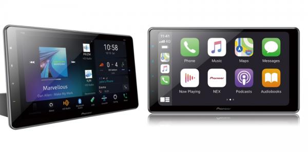 photo of Pioneer's 2020 Wireless CarPlay lineup includes a premium 10.1-inch floating receiver for your old car image