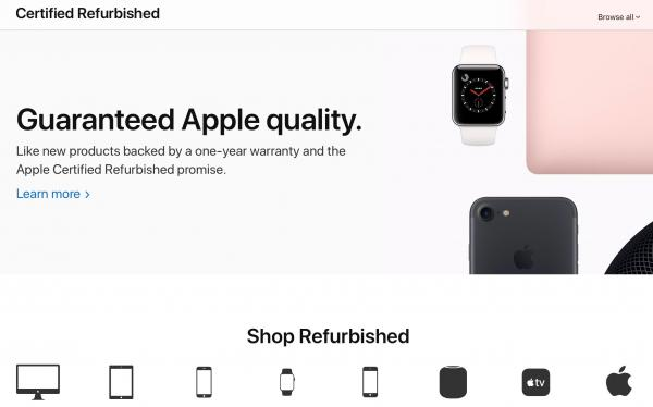 Apple launches overhauled Certified…