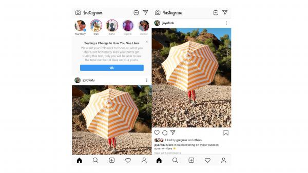 Instagram to start hiding like counts in…