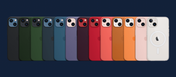 photo of Apple refreshes MagSafe case collection with new colors and designs for iPhone 13 image