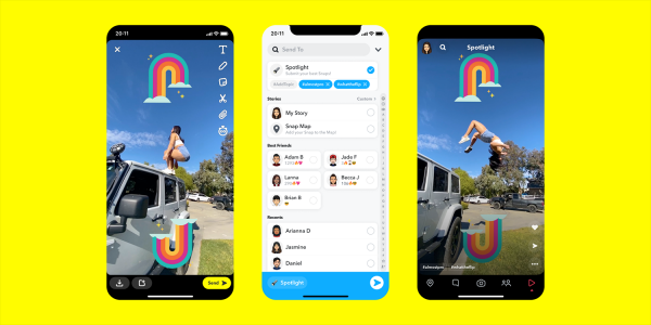 Snapchat Spotlight will compete with…
