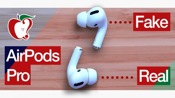 photo of Fake $95 AirPods Pro vs. Real AirPods Pro image