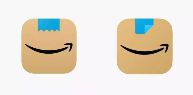 Amazon decides it needs a new app icon. Why? Hitler