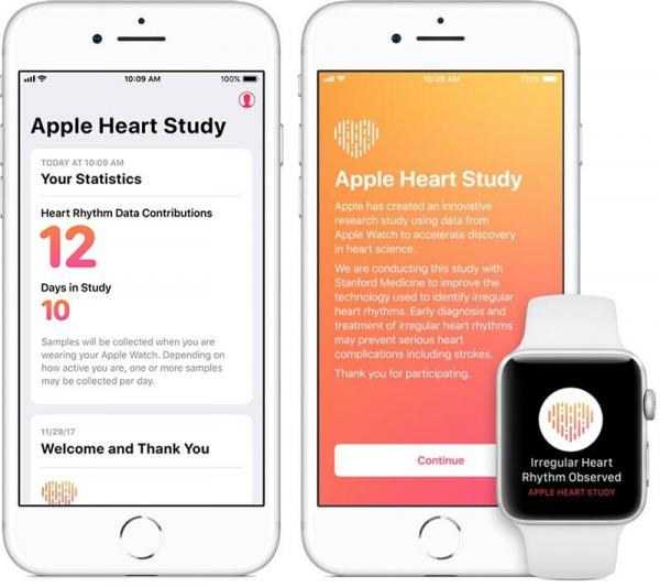 photo of Apple Watch Heart Study Finds 0.5% of Over 400,000 Participants Received Irregular Heart Rhythm Notification image