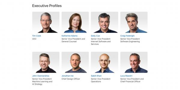Report: Former Apple exec says…