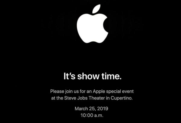 photo of Apple Sends Out Media Invites for an 'It's Show Time' Event on March 25 image