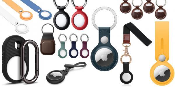 Best AirTag keychains, cases, straps,…