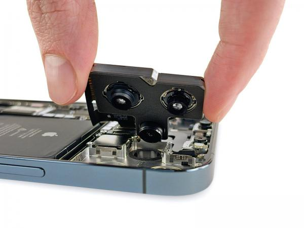 iFixit Shares iPhone 12 Pro Max Teardown Revealing L-Shaped Battery and Bigger Camera Module