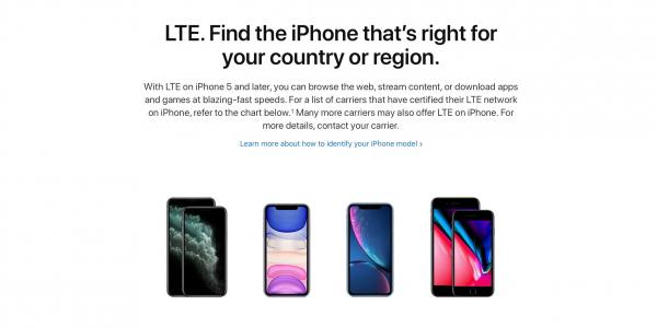How to check what LTE bands the iPhone…