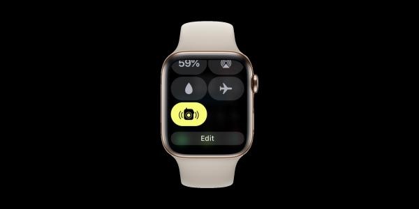 photo image watchOS 5.1.2 adds Control Center toggle for Walkie-Talkie availability