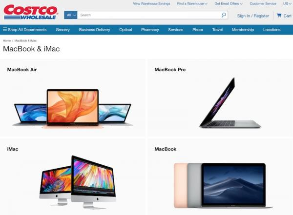 Costco Begins Selling Select Macs on Web…