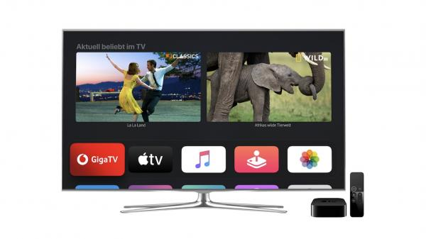 photo of Vodafone now offering Apple TV 4K as free set-top box alternative for GigaTV customers in Germany image