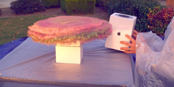 photo image Former NASA engineer turns HomePod box into glitter bomb trap for package thieves [Video]