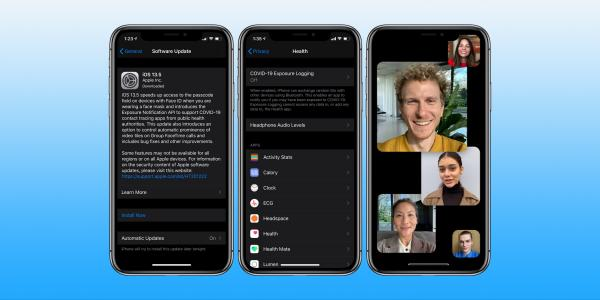 photo of iPhone: How to install iOS 13.5 with contact tracing, Face ID and Group FaceTime improvements image