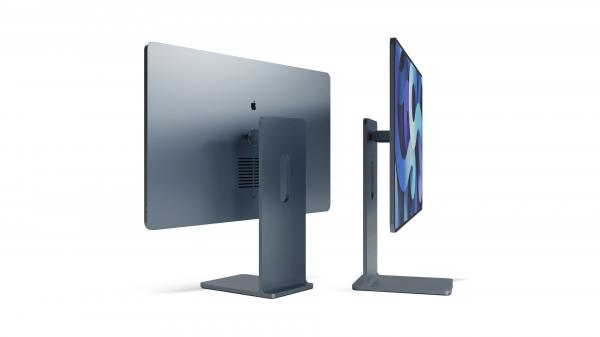 photo of Concept imagines new iMac design inspired by iPad and Pro Display XDR image