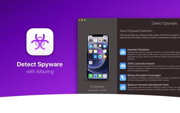 iMazing app updated with tool to easily detect Pegasus spyware on iPhone