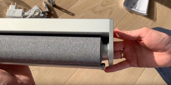 IKEA HomeKit blinds unboxing shows off…